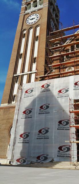 A Szegedi Dóm homlokzat felújítása