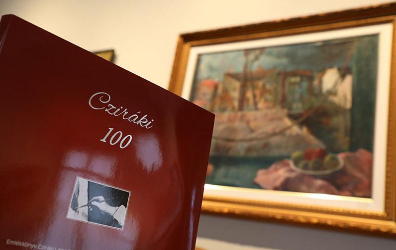 Emlékkönyvet jelentettünk meg az egyik legnagyobb győri festőről