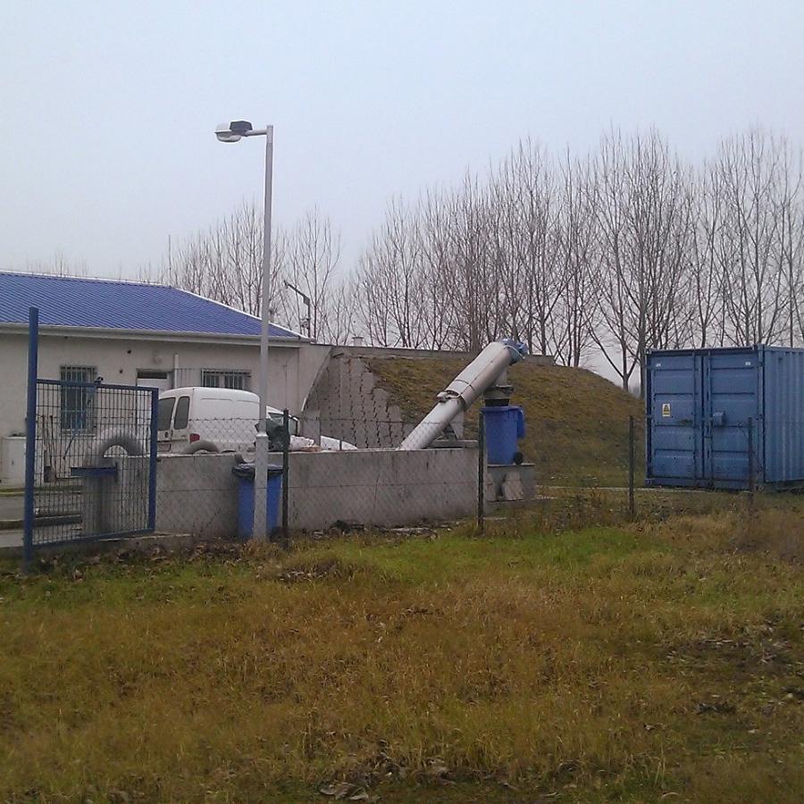 Dánszentmiklós - Nyáregyháza, Dánszentmiklós és Nyáregyháza szennyvízcsatorna hálózat építése