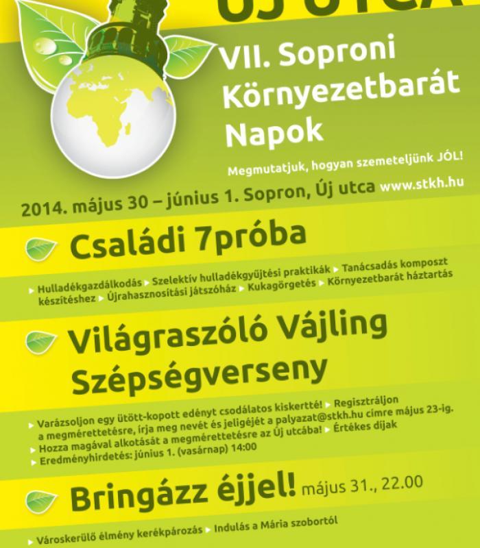 Új Utca - VII. Soproni Környezetbarát Napok