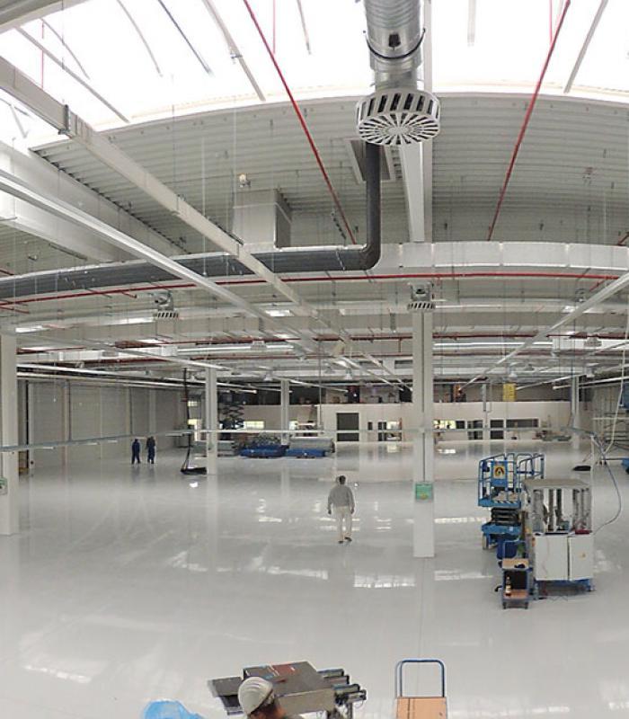 Oroszlány, BorgWarner 6. ütem - Autóipari összeszerelő üzem