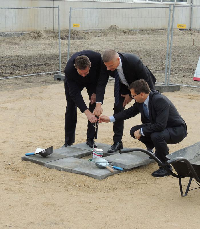 Mosonmagyaróvár, Greiner Bio-One Hungary Kft. Székhelyének bővítése
