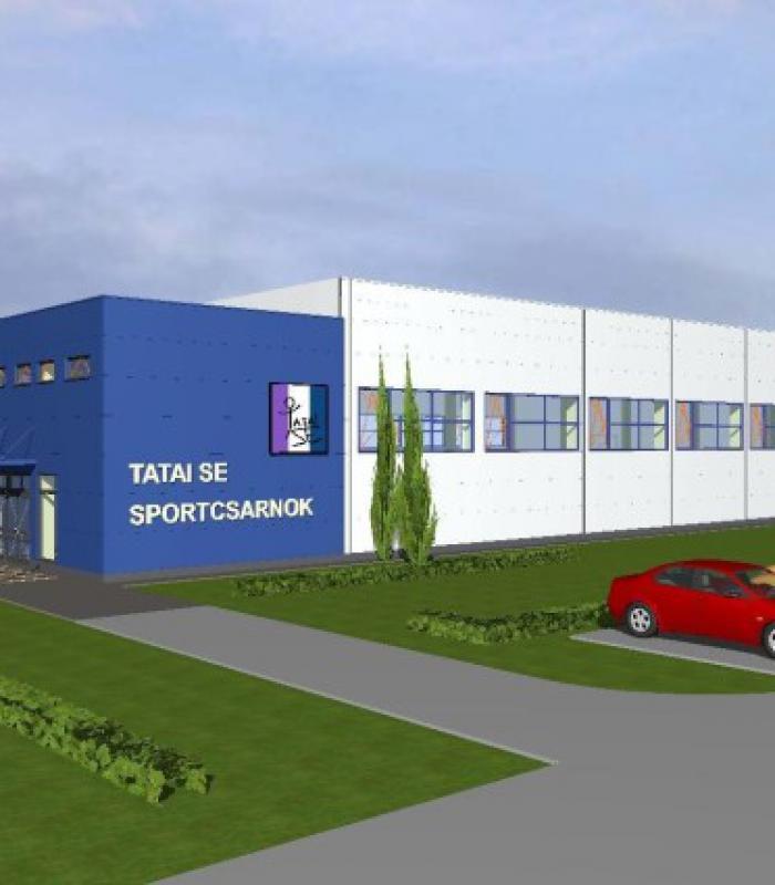 Tatán adókedvezményből épül sportcsarnok