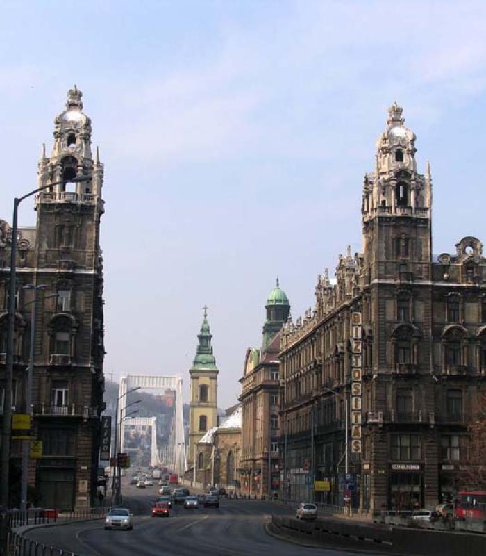Budapest Klotild palota bontás