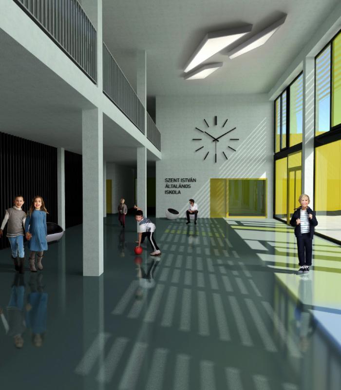 Letették az új dunakeszi iskola alapkövét