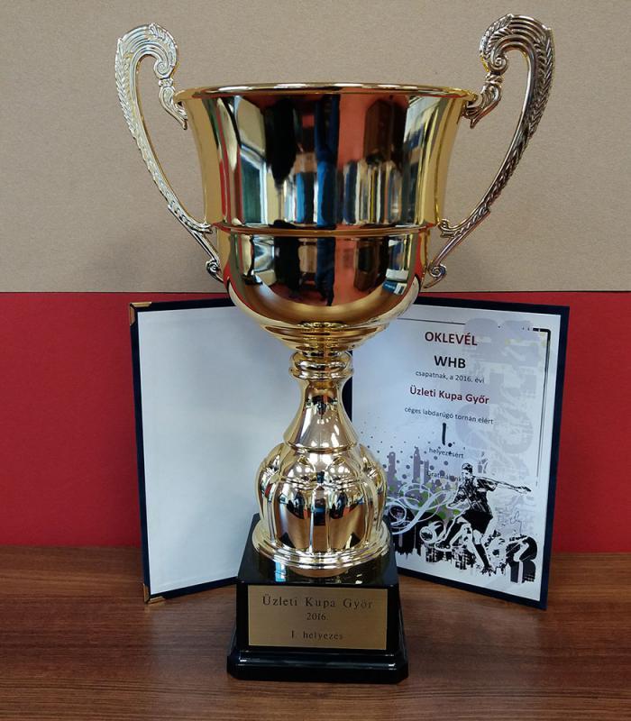 A 2016-os Üzleti Foci Kupát a WHB csapata nyerte