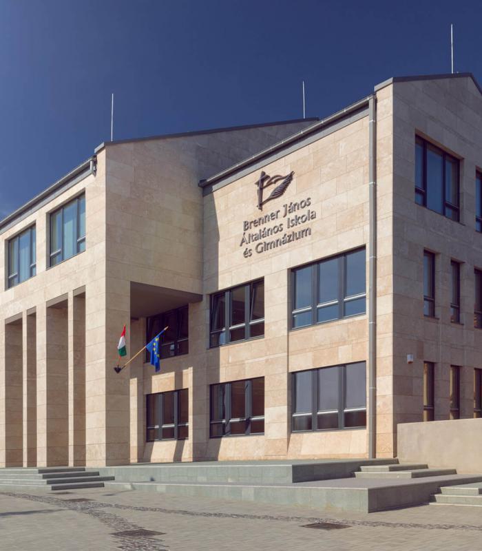 Szombathelyi iskola felújítása kapta a nívódíjat