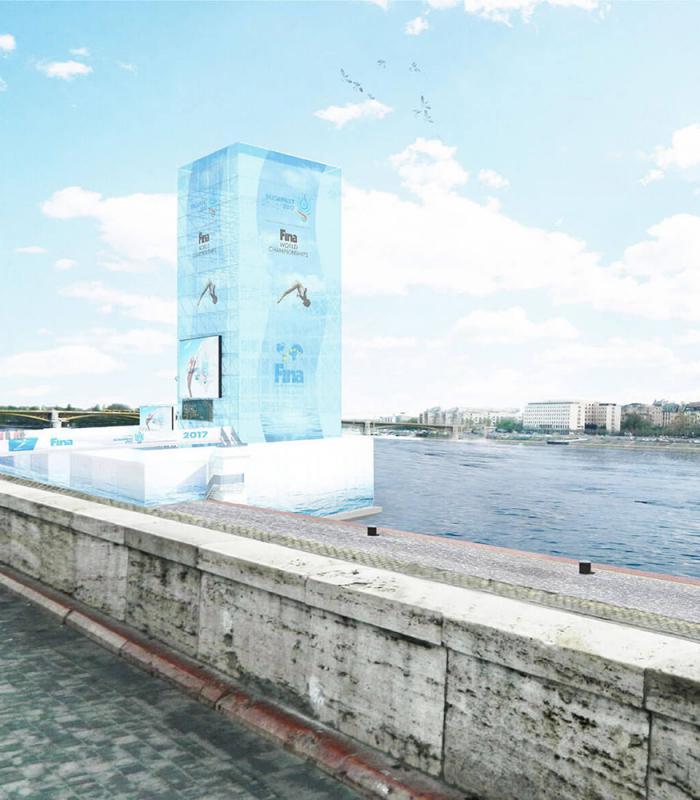 Budapest legmagasabb ideiglenes építménye