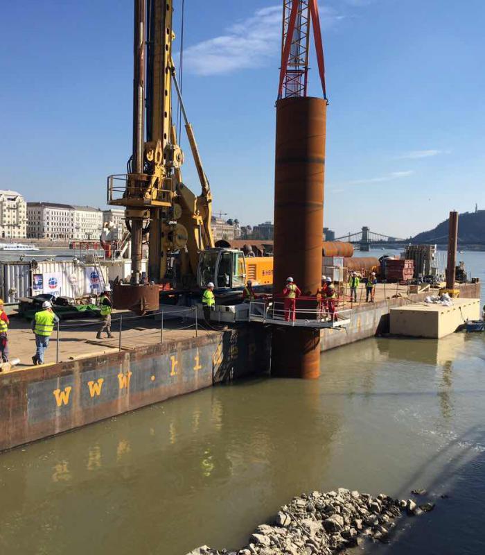 Hamarosan elkészül Budapest legmagasabb ideiglenes építménye