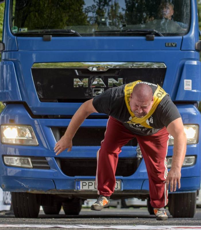 Darázs Ádám újra kamiont húzott