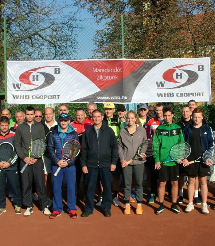 WHB Kupa Győrzámolyi teniszversenye 2018 év ősze