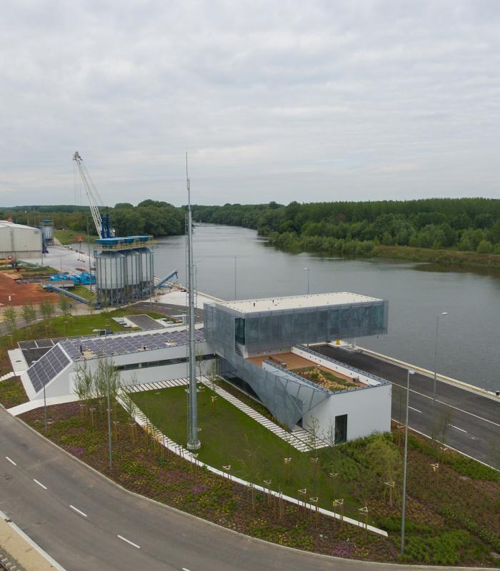 Díjat nyert a Győr-Gönyű Országos Közforgalmú Kikötő