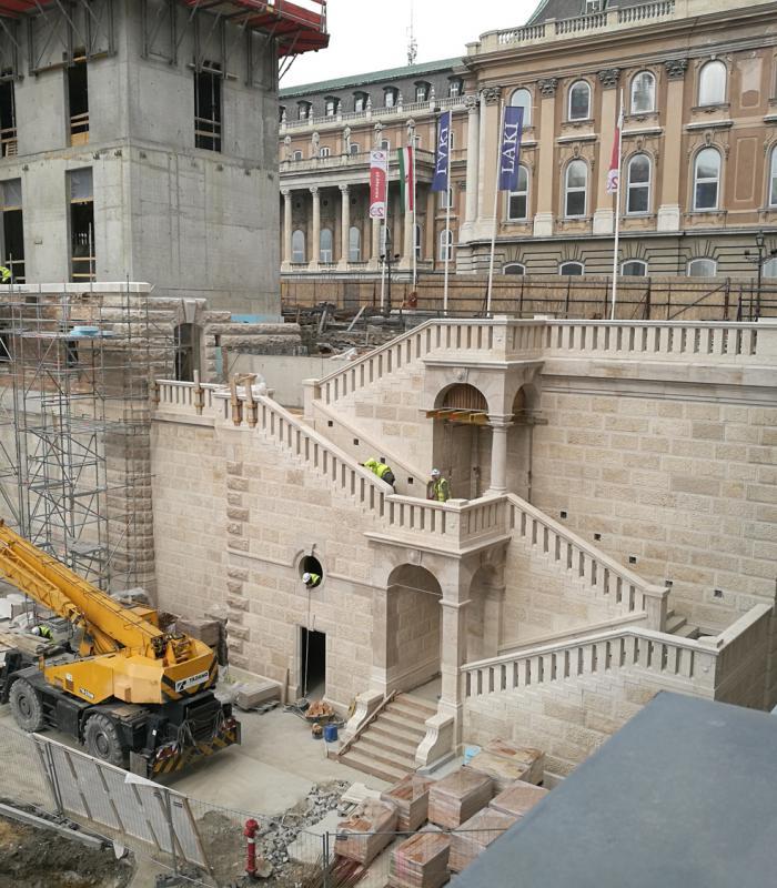Hamarosan felépítjük az új Főőrség épületét a Budai Várban.