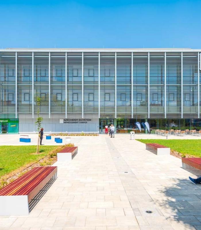 Már folynak a kutatások a Széchenyi István Egyetem új központjában